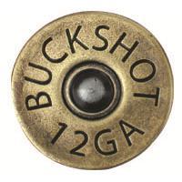 Buck Snort Lodge 321AB Shotgun Shell in Antique Brass