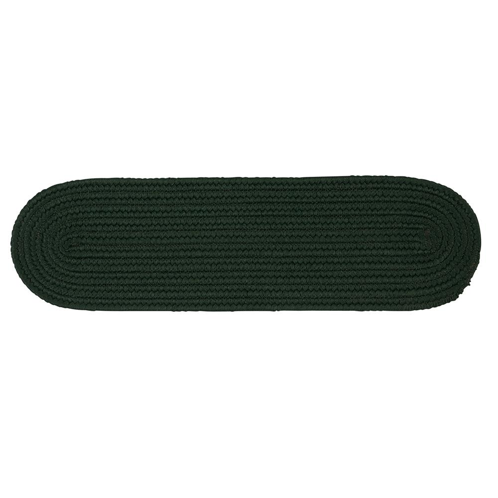 Colonial Mills BR64A008X028 Boca Raton - Dark Green Stair Tread (set 13)