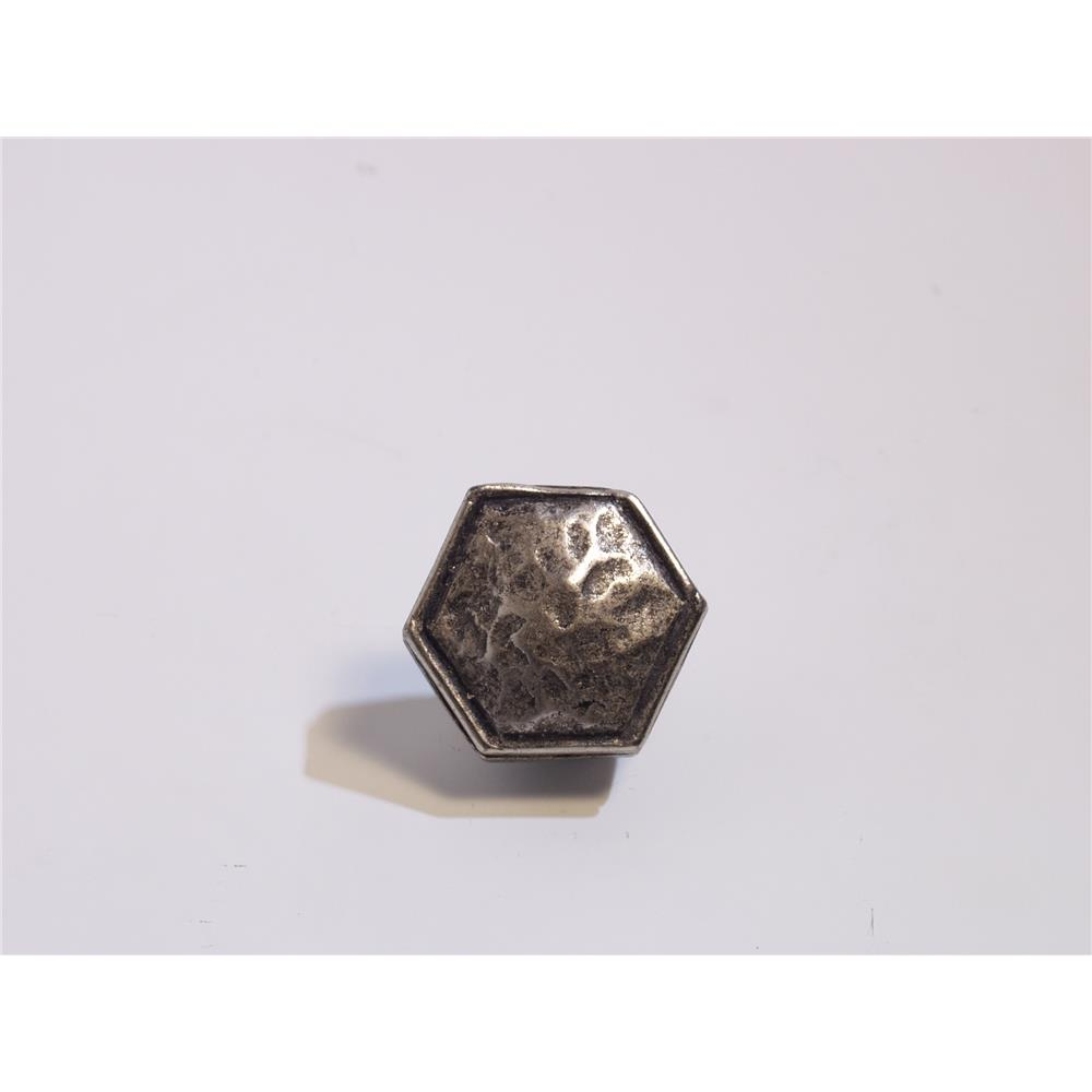 Emenee OR361-AC O Premier Collection Small Hammered Octagon 1 inch in Antique Matte Copper Hammered Series