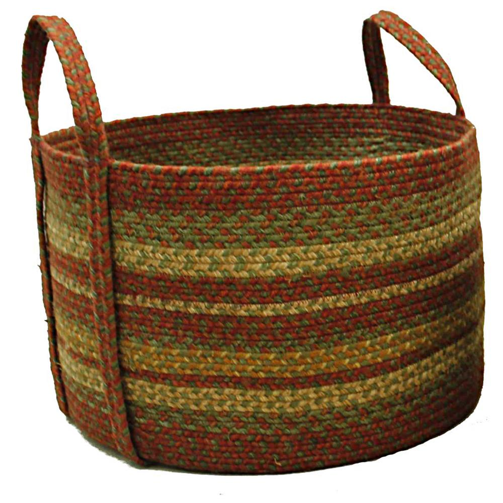 "Homespice Décor 575258 19"" x 19"" x 12"" Aberdeen Jute Braided Basket"