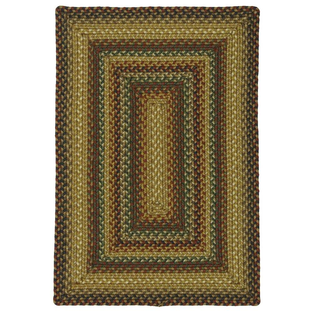 "Homespice Décor 711076 20"" x 30"" Canterbury Ultra Wool Braided Rug"