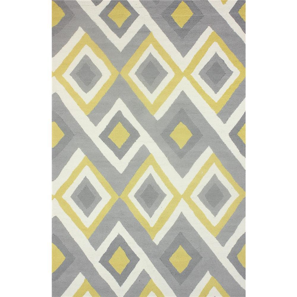 NuloomRugs BHBC62B-508 Sunflower 100% Polyester Area rug in 5