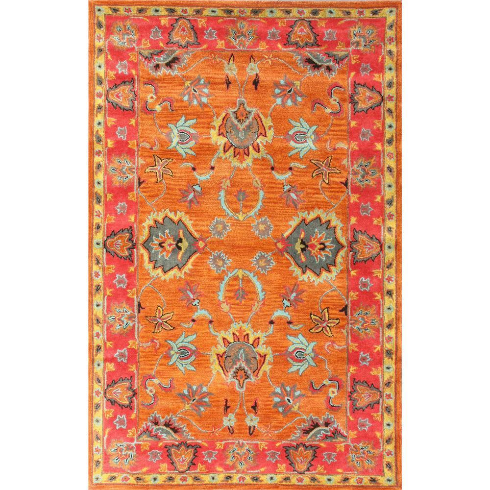 NuloomRugs SPRE21A-2608 Multi 100% Wool Area rug in 2