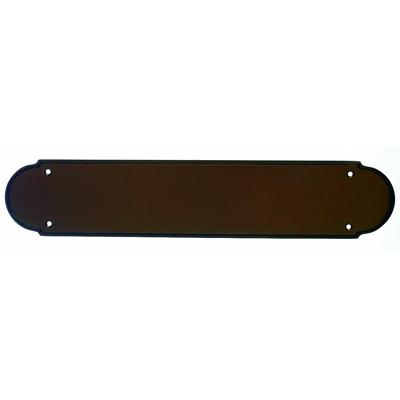 Top Knobs M897 - Beaded Push Plate - Oil Rubbed Bronze - Appliance Collection