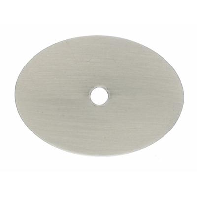 Top Knobs TK62BSN - Large Oval Backplate 1 3/4 - Brushed Satin Nickel - Sanctuary Collection