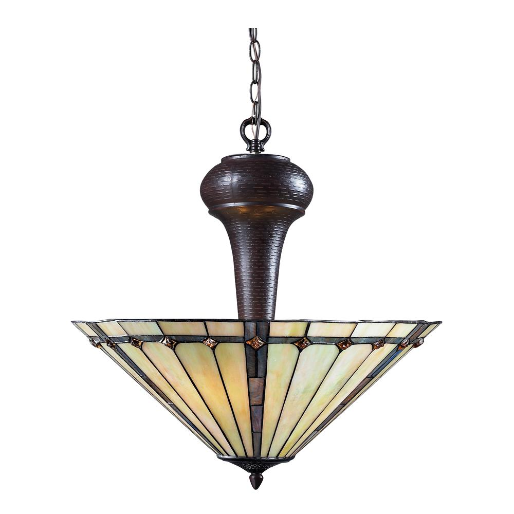 Z-Lite Z22-42P 3 Light Pendant in Chestnut Bronze