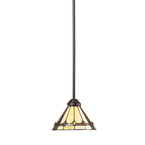 Z-Lite Z8-42MP 1 Light Mini Pendant in Chestnut Bronze